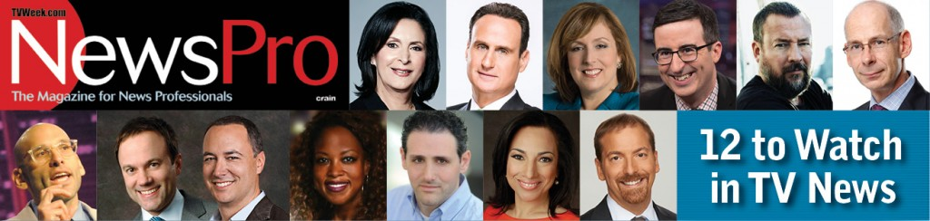 12 to Watch in TV News
